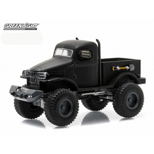 Black Bandit Series 14 - Military 1/2 Ton 4 X 4 Truck