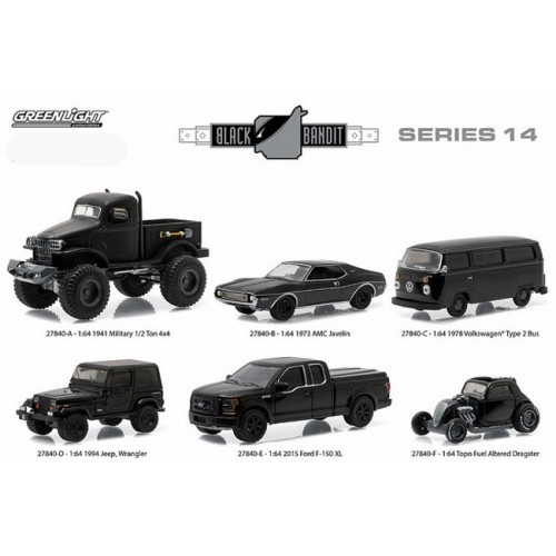 Black Bandit Series 14 - Set