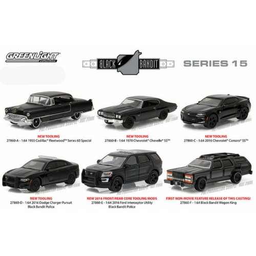 Black Bandit Series 15 - Set