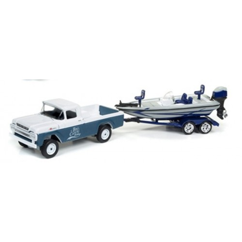 Gone Fishing Release 2A - 1959 Ford F-250 with Boat on Trailer