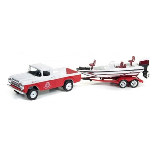Gone Fishing Release 2B - 1959 Ford F-250 with Boat on Trailer