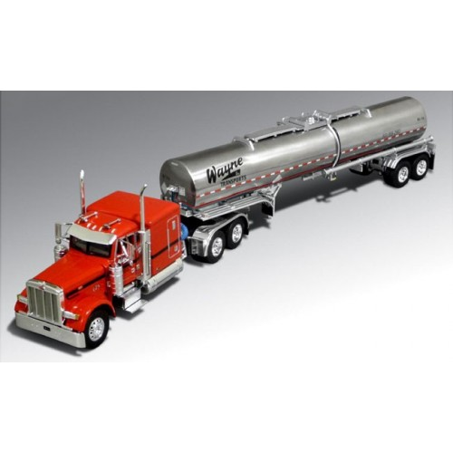 DCP Peterbilt 379 with Chemical Tanker Trailer