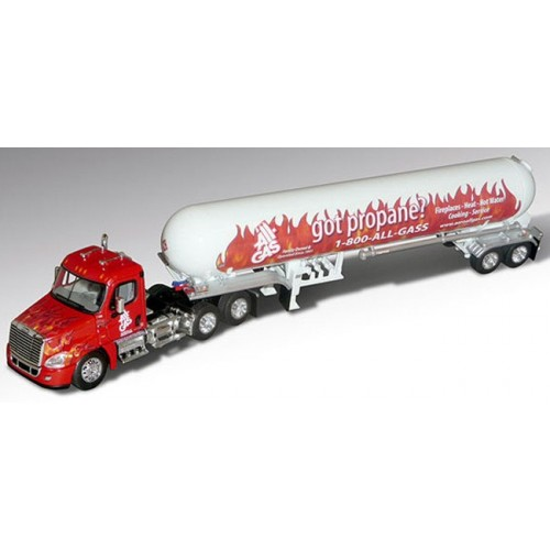 DCP Freightliner Cascadia with Propane Trailer - All Gas