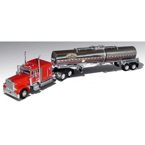 DCP Peterbilt 379 with Chemical Tanker Trailer - Girton