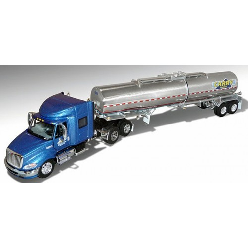 DCP International ProStar with Chemical Tanker Trailer