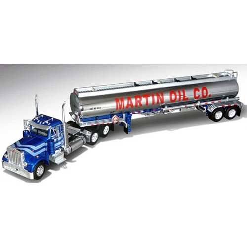 DCP Peterbilt 379 with Heil Fuel Tanker Trailer - Martin Oil