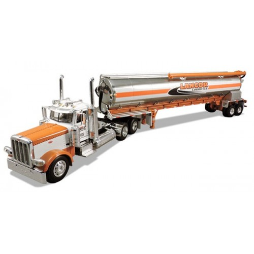 DCP Peterbilt 389 with Walinga Bulk Feed Trailer