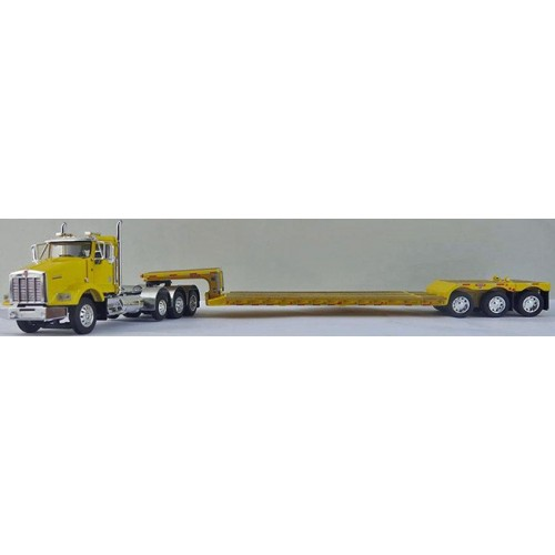 DCP Kenworth T800 Tri-Axle with Renegade Lowboy Trailer