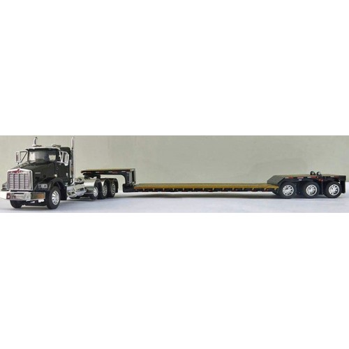 DCP Kenworth T800 Tri-Axle with Fontaine Renegade Lowboy