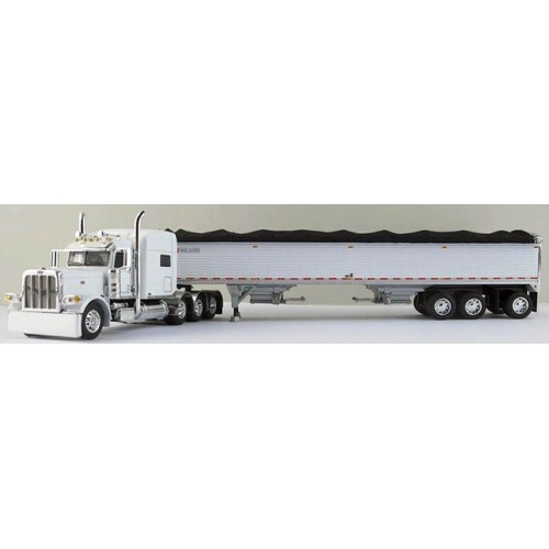 DCP Peterbilt 389 Tri-Axle with Wilson Tri-Axle Grain Trailer