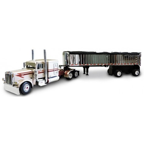 DCP Peterbilt 389 with MAC Spread Axle Coal Dump Trailer