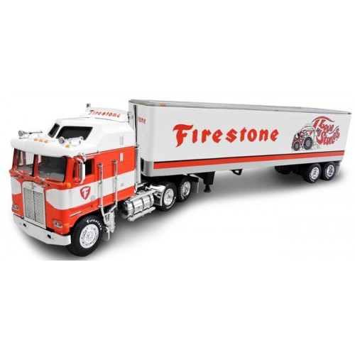 DCP Kenworth K100 Aerodyne COE with Dry Goods Trailer