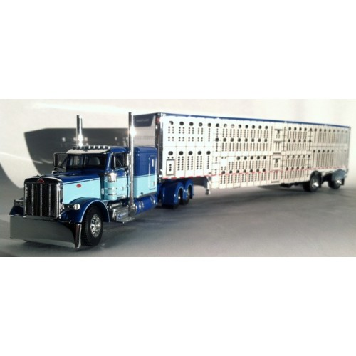 DCP Peterbilt 379 with Wilson Livestock Trailer - Equipment Express