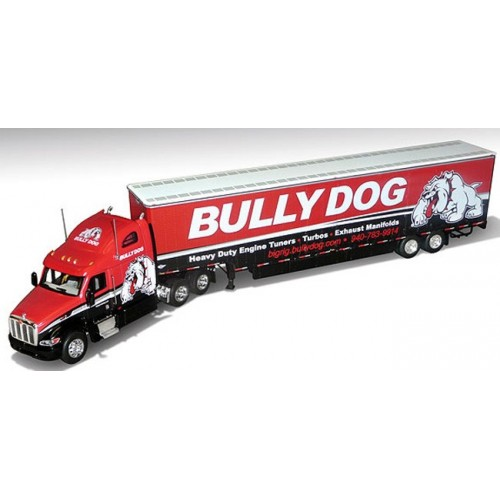 DCP Peterbilt 387 with Kentucky Trailer - Bully Dog