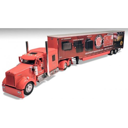 DCP Kenworth K900 with Kentucky Moving Trailer - Detroit Radiator