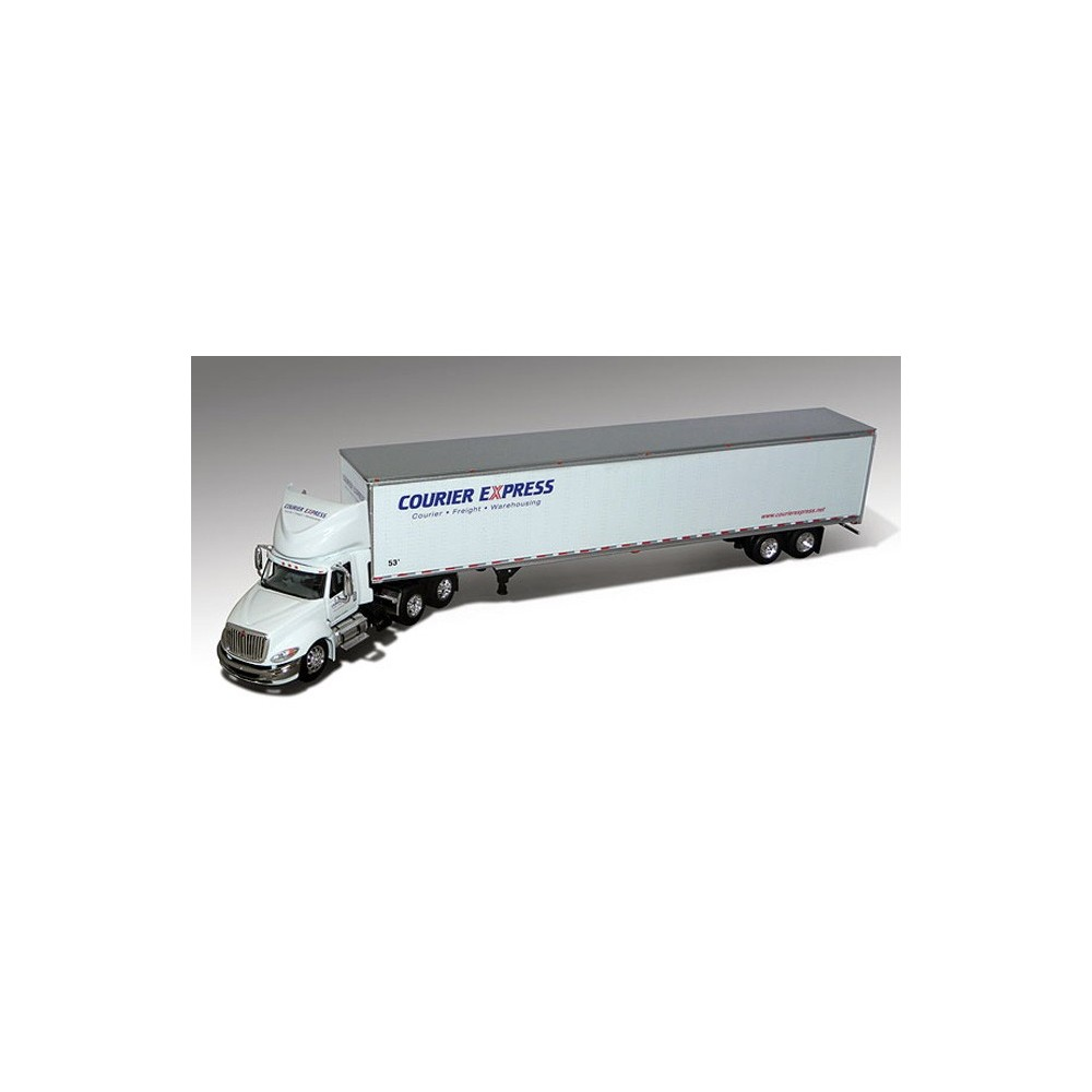DCP International ProStar with Dry Van Trailer - Courier Express
