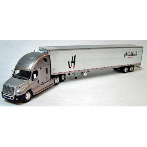 DCP Freightliner Cascadia with Refrigerated Trailer - Hirschbach