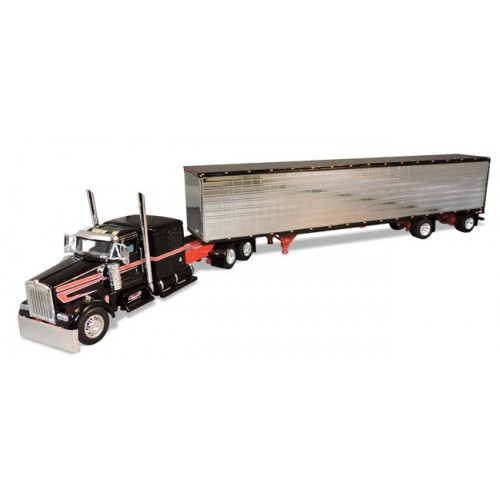 DCP Kenworth W900 with 53' Dry Goods Trailer - Tralo