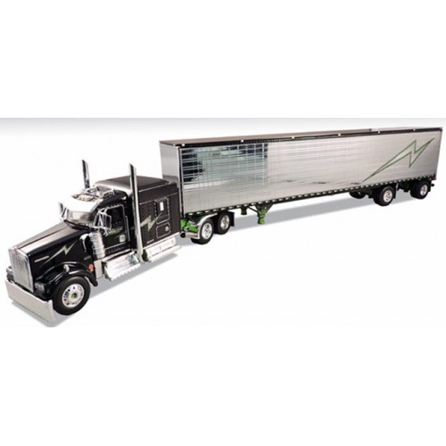 DCP Kenworth W900 with Dry Goods Trailer - Jerry Linander