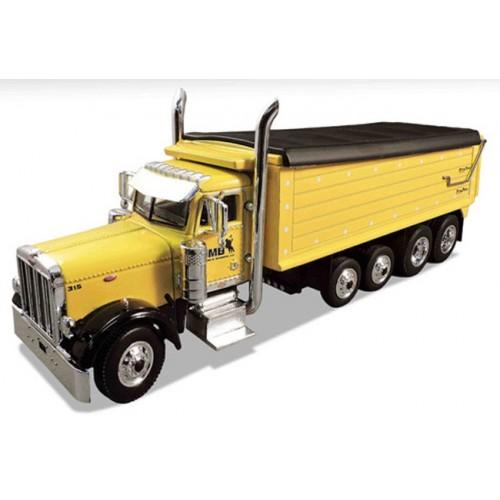 DCP Peterbilt 379 4-Axle Dump Truck - JM Bozeman