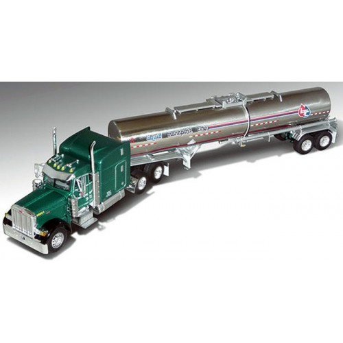 DCP Peterbilt 379 with Chemical Tanker - Liquid Transport