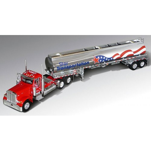 DCP Peterbilt 379 with Petroleum Tanker - Star Transportation
