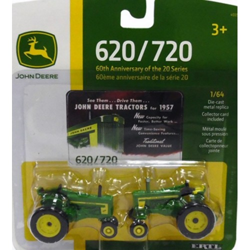 John Deere 620 and 720 Tractor Set