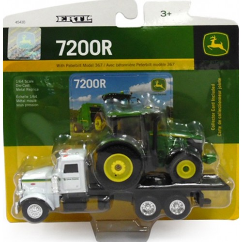 John Deere 7200 R Tractor with Peterbilt Model 367