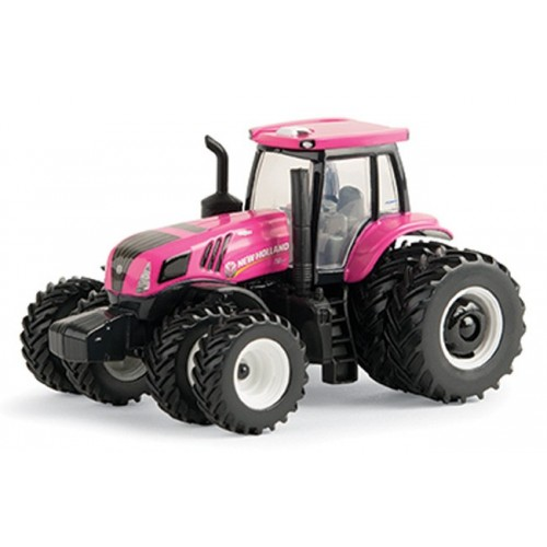 New Holland Genesis T8.410 Pink Tractor