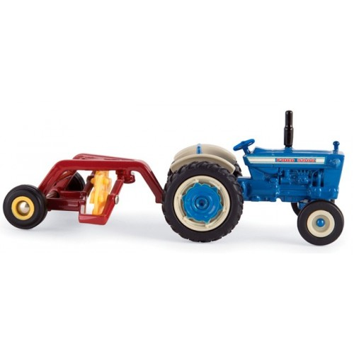 Ford 5000 Tractor with Hay Rake