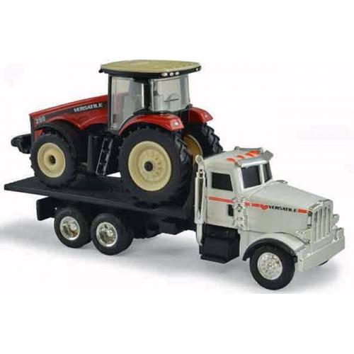 Versatile 290 Tractor with Peterbilt Model 367