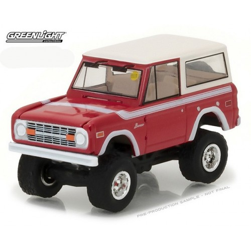 Mecum Auctions Series 1- 1975 Ford Bronco