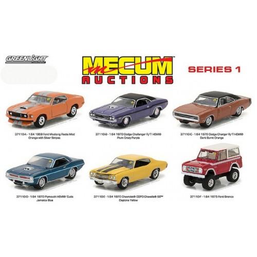 Mecum Auctions Series 1 - SET