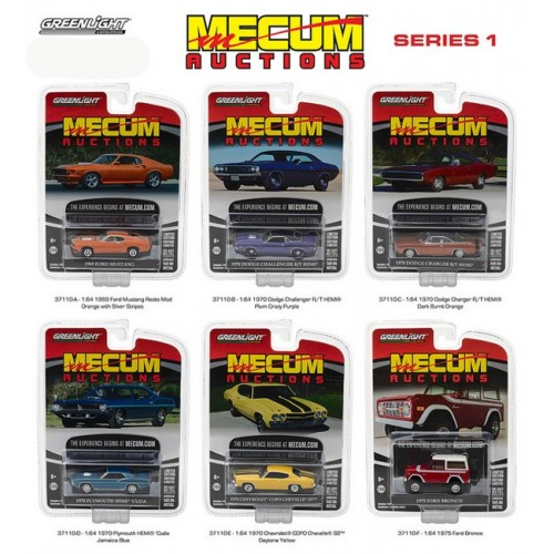 Mecum Auctions Series 1 - SET