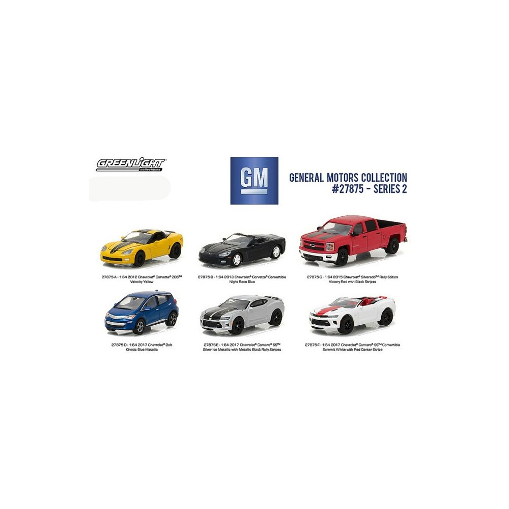Greenlight general motors collection series 2 six car set for General motors cars brands