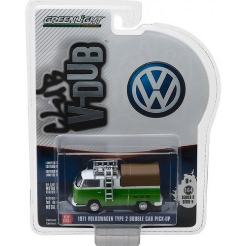 Club Vee-Dub Series 5 - 1971 Volkswagen Type 2 Double Cab Pick-Up