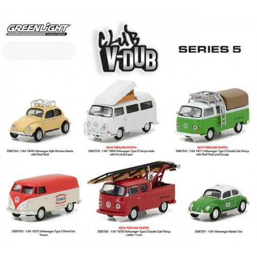 Club Vee-Dub Series 5 - SET