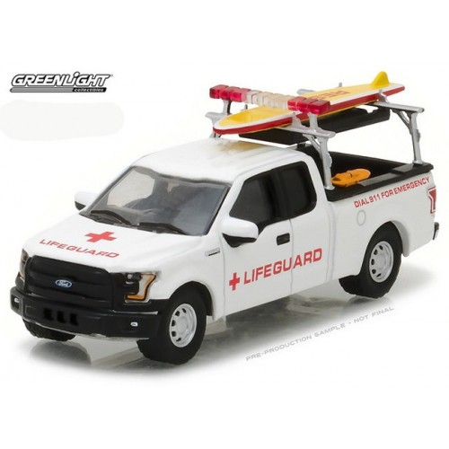Hobby Exclusive - 2016 Ford F-150 Lifeguard Truck