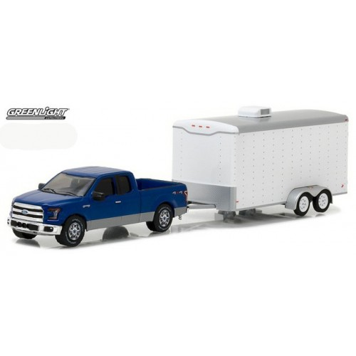Hobby Exclusive - 2015 Ford F-150 and Enclosed Car Trailer