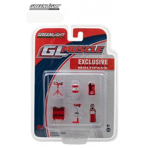 GL Muscle Shop Tools Set - Texaco