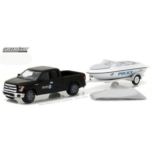 Hitch and Tow Series 10 - 2015 Ford F-150 with Police Boat