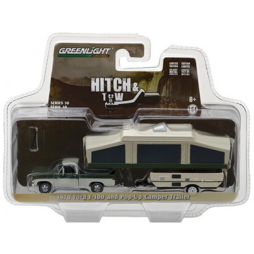 Hitch and Tow Series 10 - 1970 Ford F-100 and Pop-Up Camper