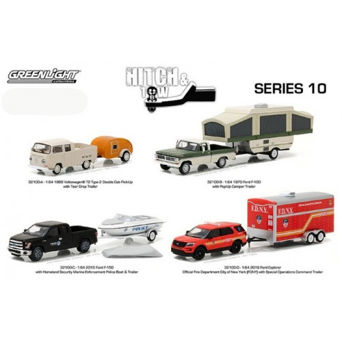Hitch and Tow Series 10 - SET