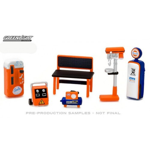GL Muscle Shop Tools Set - Gulf Oil