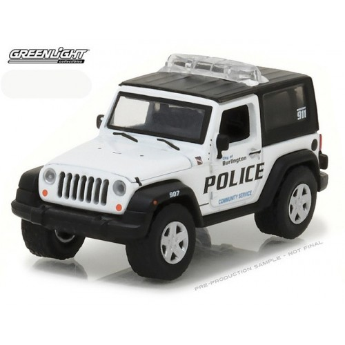 Hot Pursuit Series 23 - 2009 Jeep Wrangler Burlington Police