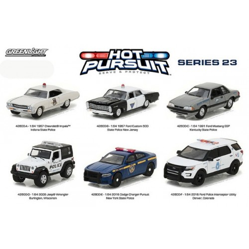 Hot Pursuit Series 23 - SET