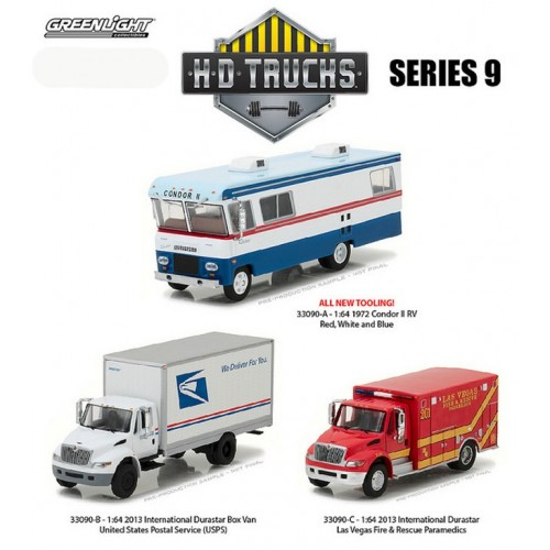 HD Trucks Series 9 - SET