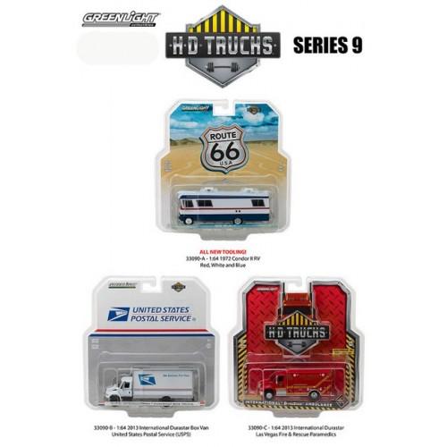 HD Trucks Series 9 - SET