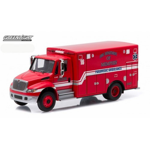 HD Trucks Series 5 - International DuraStar Ambulacne Memphis