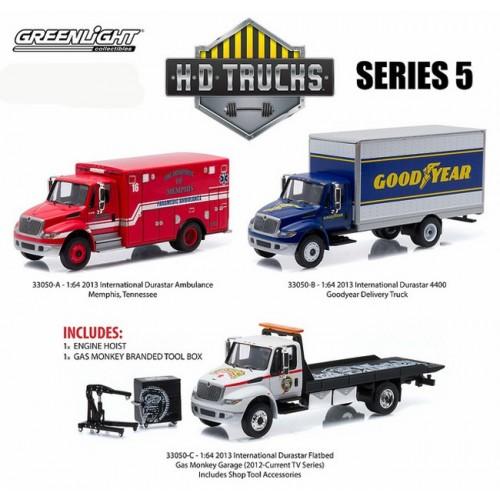 HD Trucks Series 5 - SET